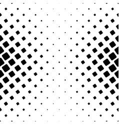 monochrome square pattern - geometrical halftone vector image