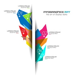 Original Style Infographics Templates vector image