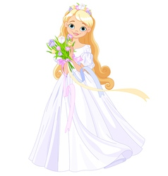 Spring princess vector