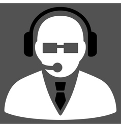Support Manager Icon vector