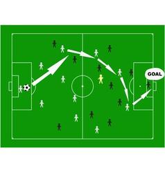 winning strategy vector image