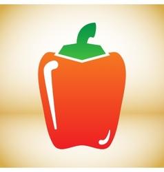 Pepper symbol vector image vector image