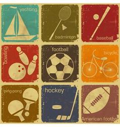 sport icon color vector image vector image