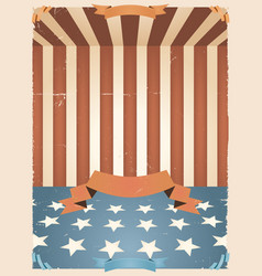 american holidays background vector image