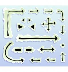 arrowstorn vector image