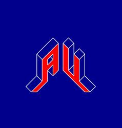 Au - international 2-letter code or national vector