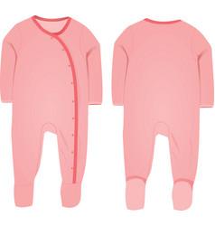 Baby suit vector