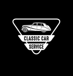 car badge and logo good for print vector image