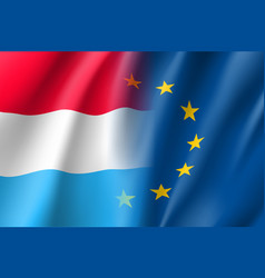 Symbol luxembourg is eu member vector