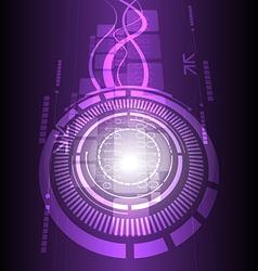 technology design background vector image