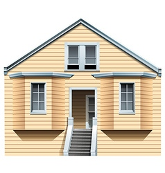 A big old house vector image
