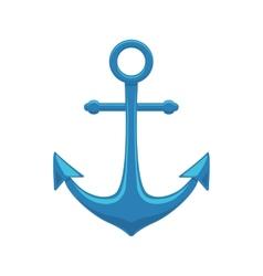 Sea anchor vector image vector image