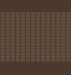brown dark chocolate design background vector image vector image