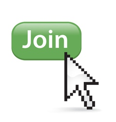 Join Button Click vector image vector image