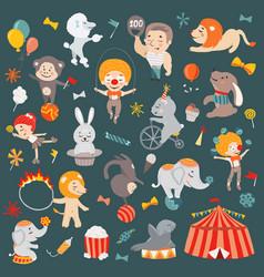 circus vector image