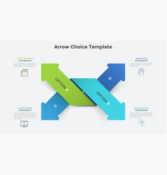 Creative infographic template vector