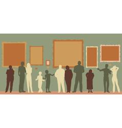 Gallery color vector