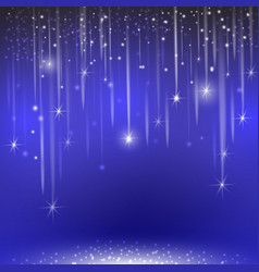 glowing glitter light effects isolated realistic vector image