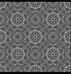 Grey abstract bohemian gravel mosaic ethno vector