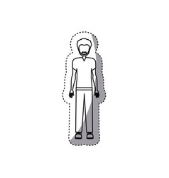 People man icon image vector