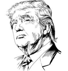 President united states america vector