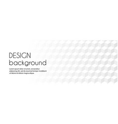 white abstract long banner business vector image