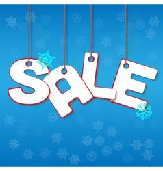 Winter Sale vector image
