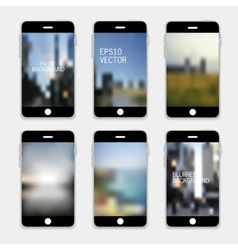 Mobile Phone Background vector image vector image