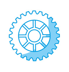 Cogwheel icon image vector