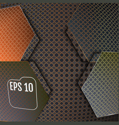 abstract background modern carbon fiber vector image