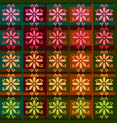 seamless fabric texture shape vector image