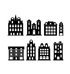 A set of design city elements vector