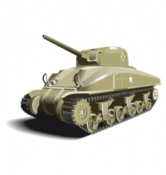 American tank vector