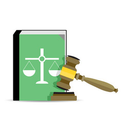 Court and law vector