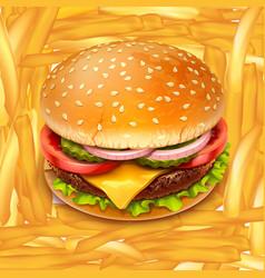 fastfood 02 vector image