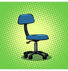 Office chair furniture vector