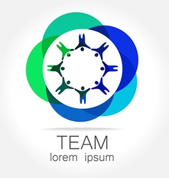 team unity logo vector image