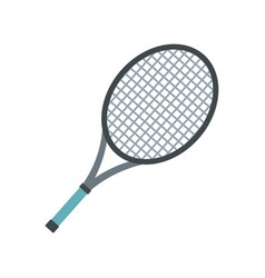 Tennis racket icon flat style vector
