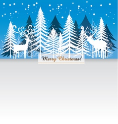Card Merry Christmas vector image vector image