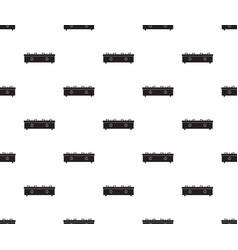 gas cooker seamless2 vector image