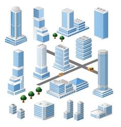 buildings vector image