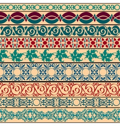 vintage borders for design vector image vector image