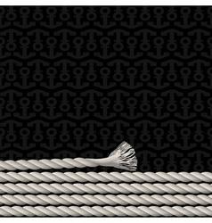 Black background pattern vector image