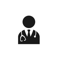 Doctor icon design template isolated vector