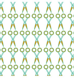 medical scissors tool surgery accessory background vector image