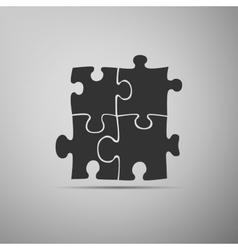 Puzzles icon vector image vector image
