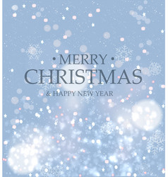 Greeting card background blurred gently blue vector