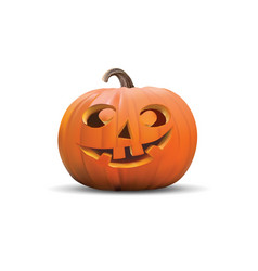 Halloween pumpkin in vector