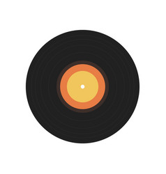 Isolated flat vinyl vector