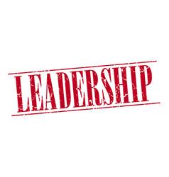 Leadership vector